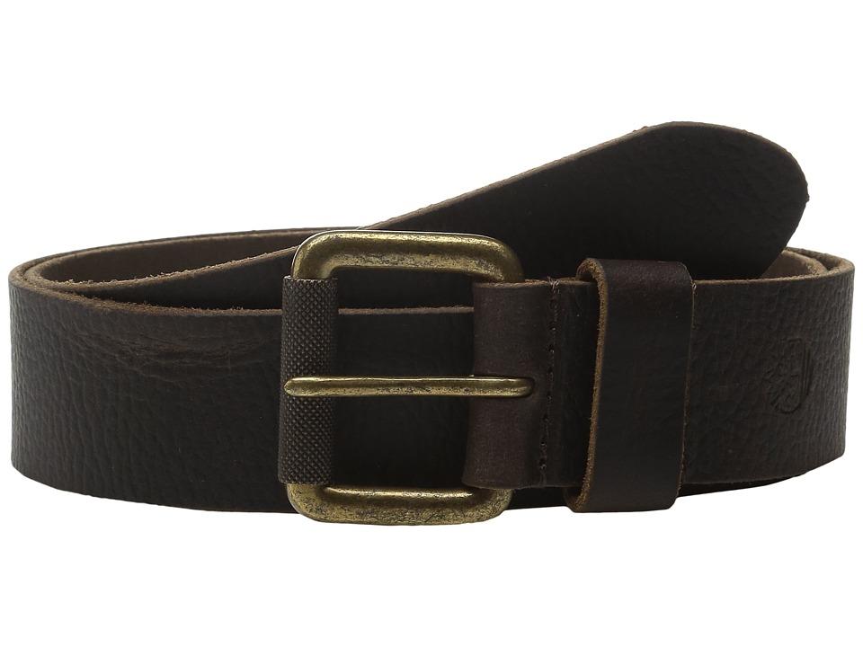 Timberland - 40mm Milled Pull Up Belt (Dark Brown) Men's Belts