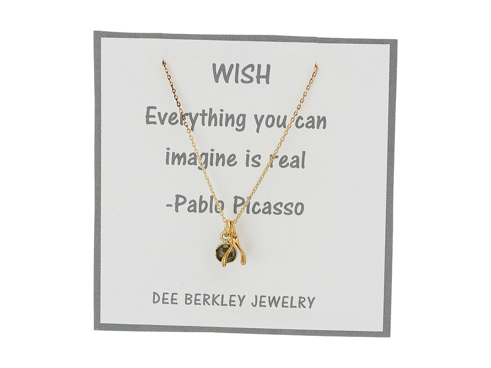 Dee Berkley - Making Wishes Necklace (Gold) Necklace