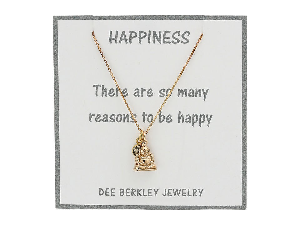 Dee Berkley - Blissful Mind Necklace (Gold) Necklace