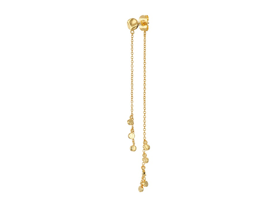 gorjana - Chloe Mini Double Drop Earrings (Gold) Earring