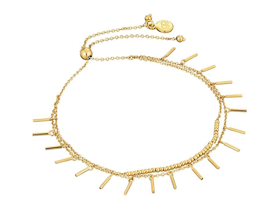gorjana - Makenzie Fringe Bracelet (Gold) Bracelet