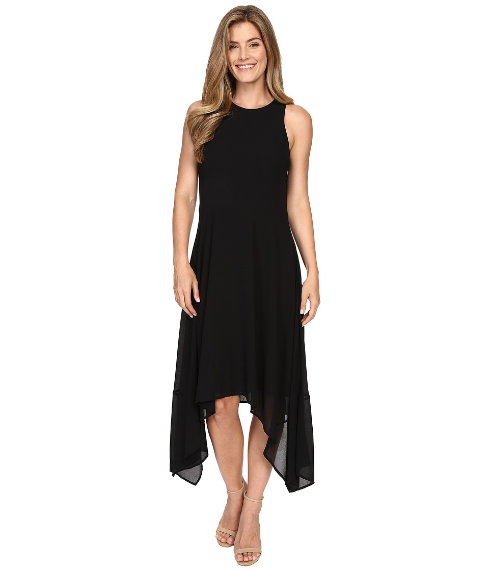 MICHAEL Michael Kors - Hi Lo Sleeveless Dress (Black) Women's Dress
