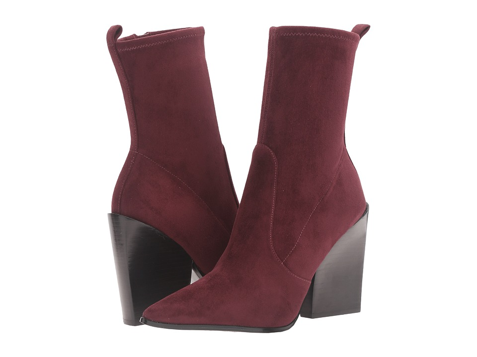 KENDALL + KYLIE - Felicia (Burgundy Fine Suede) Women's Shoes