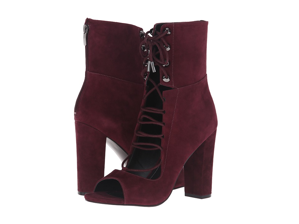 KENDALL + KYLIE - Ella (Burgundy Kid Suede) Women's Shoes