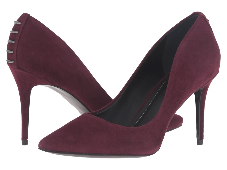 KENDALL + KYLIE - Britney (Dark Burgundy Suede) Women's Shoes