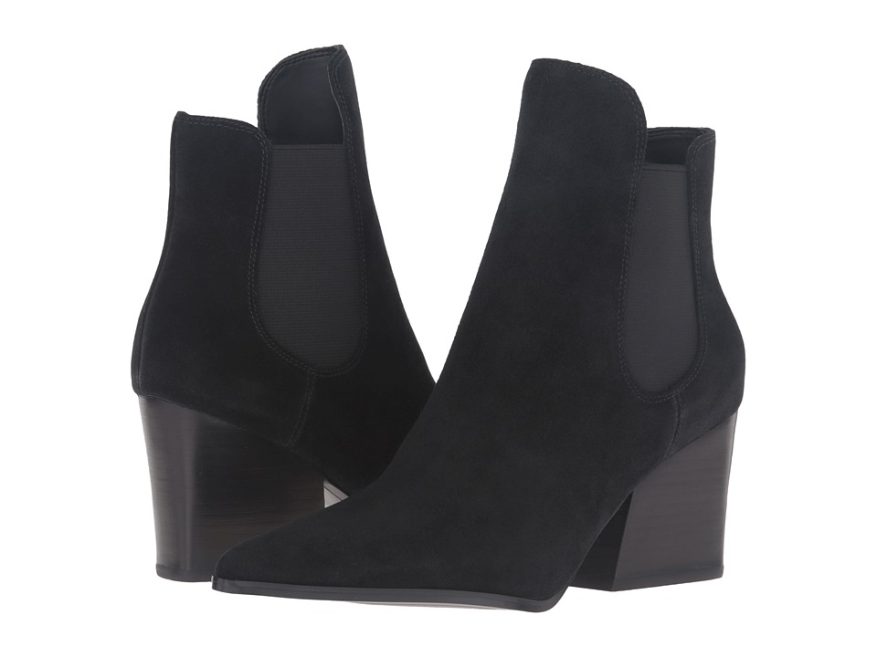 KENDALL + KYLIE - Finley (Black Suede) Women's Shoes