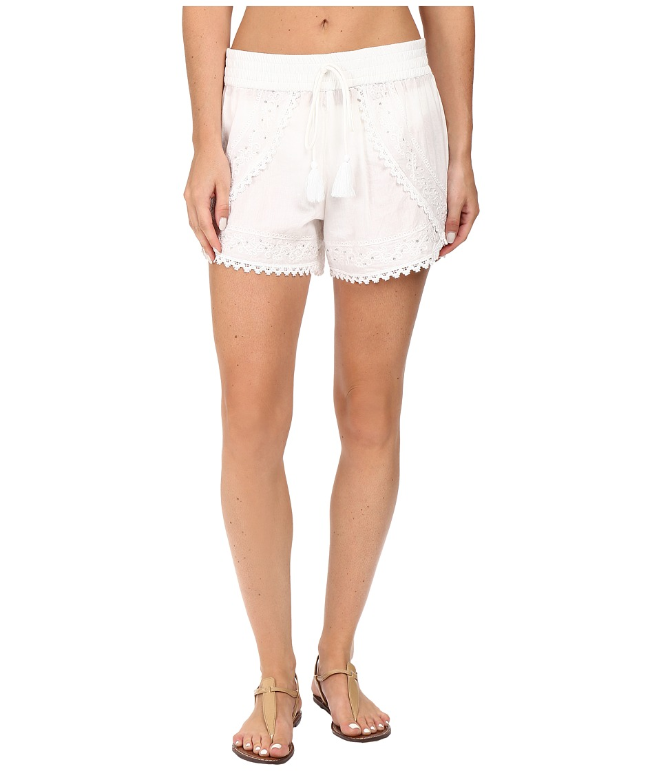 La Blanca Beachcomber Tulip Hem Short (White) Women
