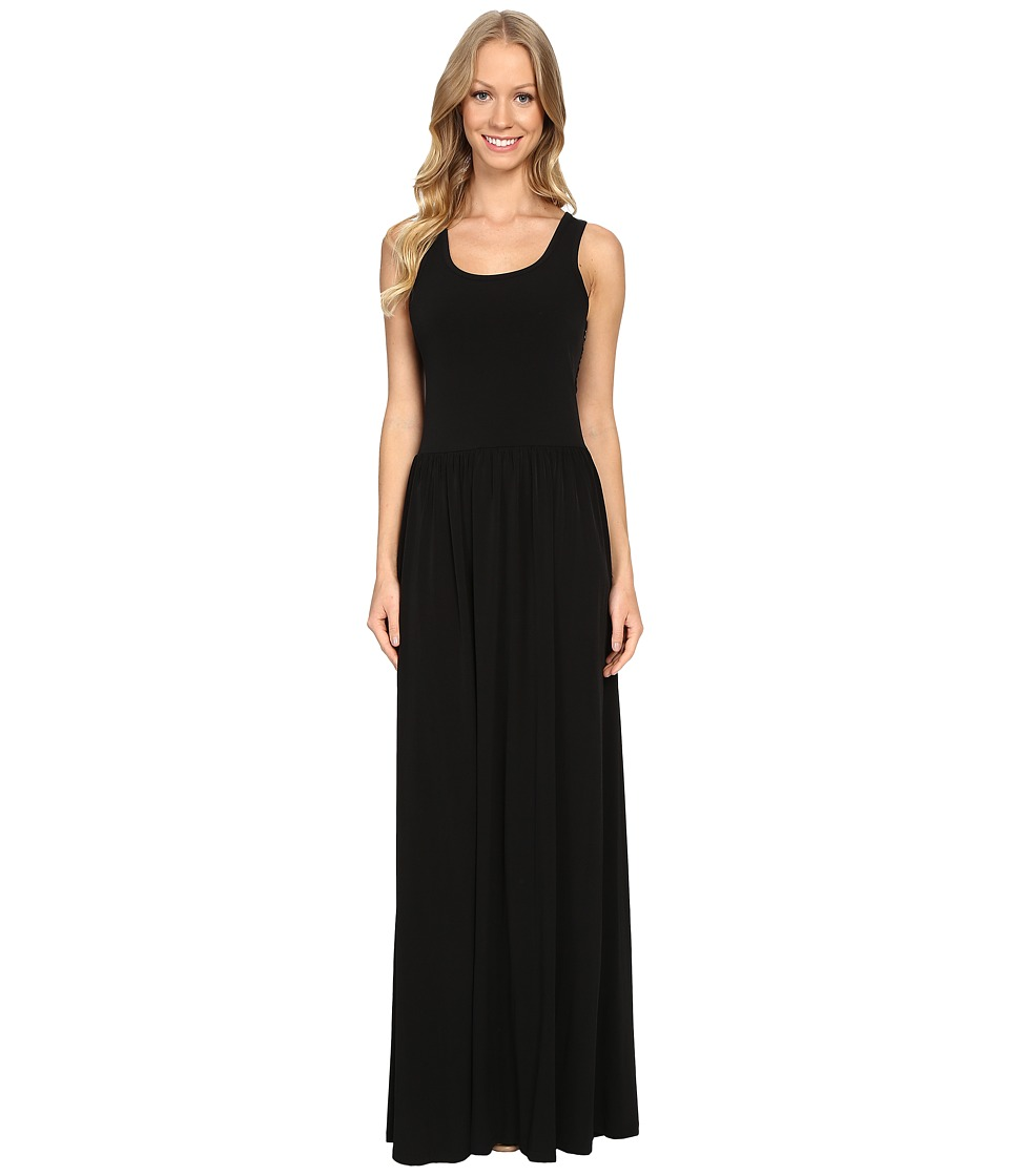 MICHAEL Michael Kors - Twist Strap Maxi Dress (Black) Women's Dress