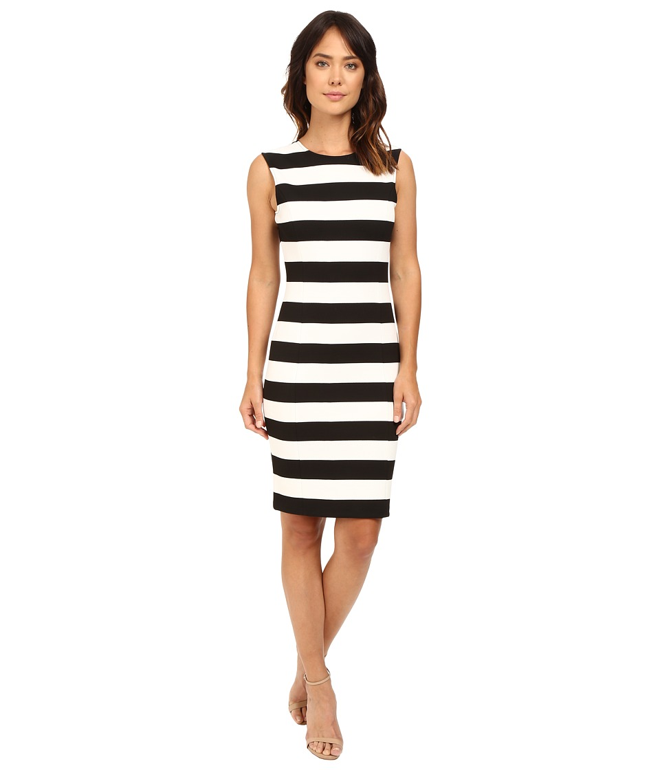 MICHAEL Michael Kors - Scoop Back Seamed Dress (Black) Women's Dress