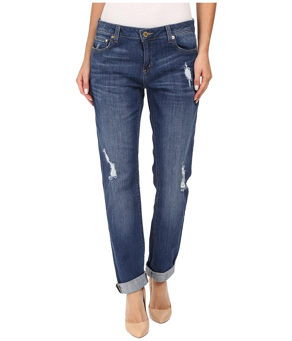 MICHAEL Michael Kors - Denim Disttressed Dillon (Antique Wash) Women's Jeans
