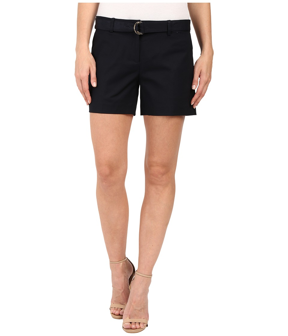 MICHAEL Michael Kors - Midi Shorts (New Navy) Women's Shorts