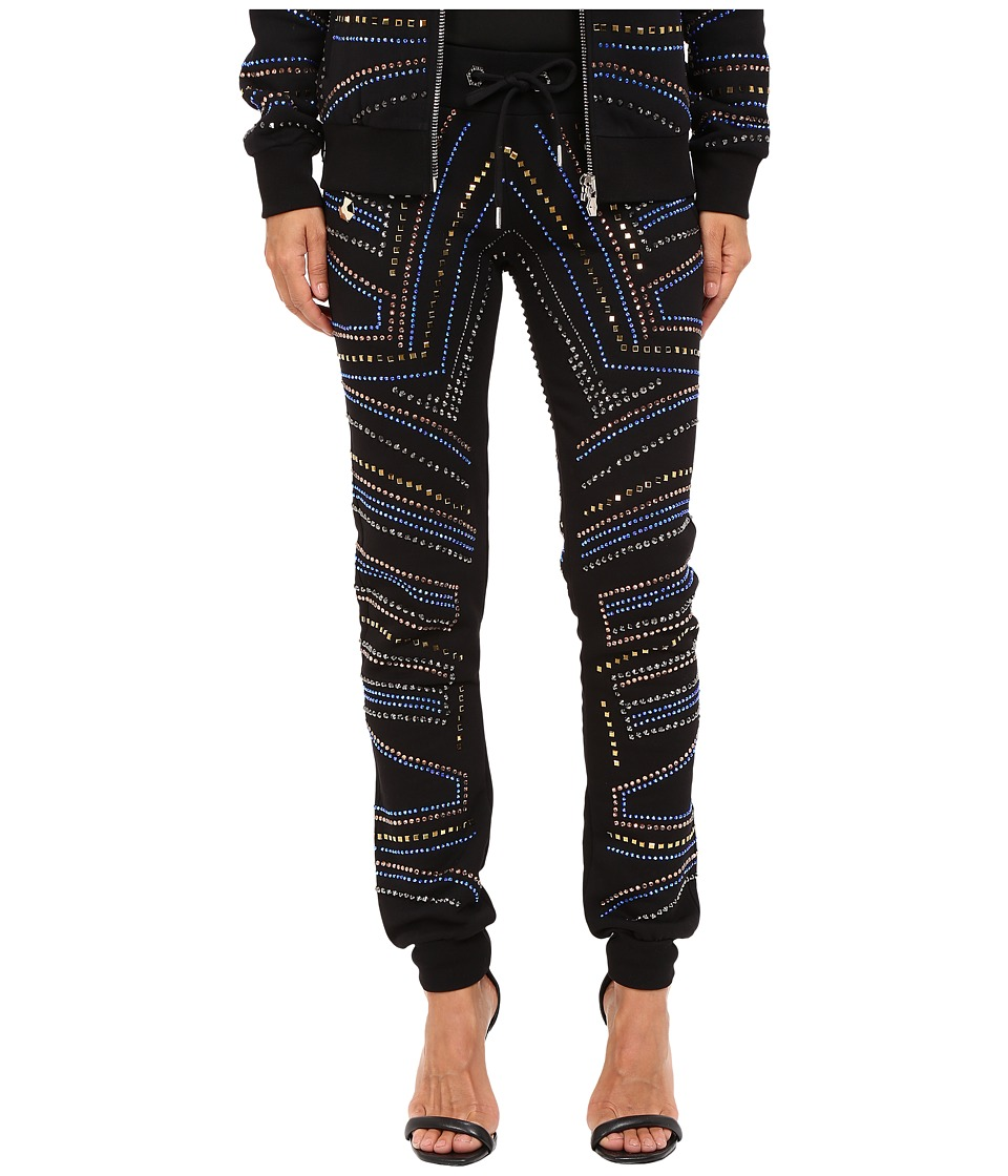 Philipp Plein - Embellished Jogging Sweatpants (Black) Women's Casual Pants