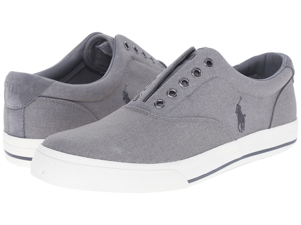 Polo Ralph Lauren - Vito (Light Grey) Men's Lace up casual Shoes