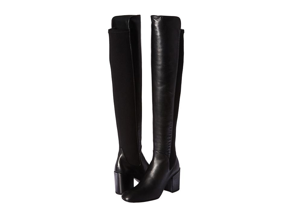 Stuart Weitzman - Halftime (Black Nappa) Women's Boots