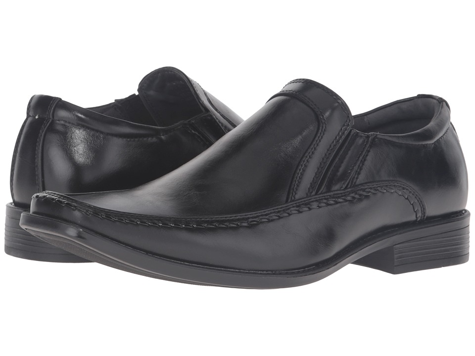 Steve Madden Linden Black Mens Shoes