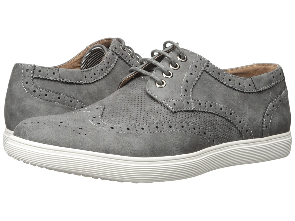 Steve Madden - Reggie (Grey) Men's Shoes