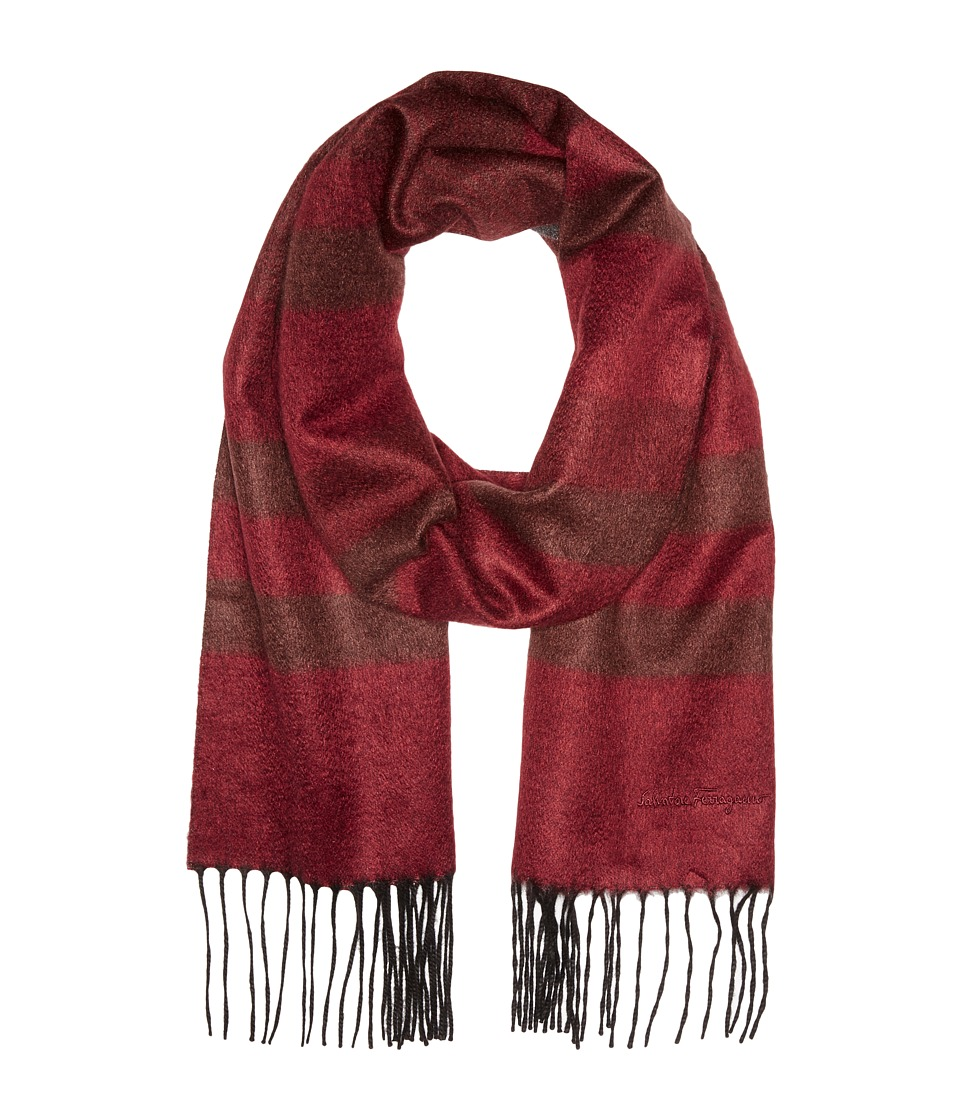 Salvatore Ferragamo - Bless Scarf - 526548 (Bordeaux) Scarves