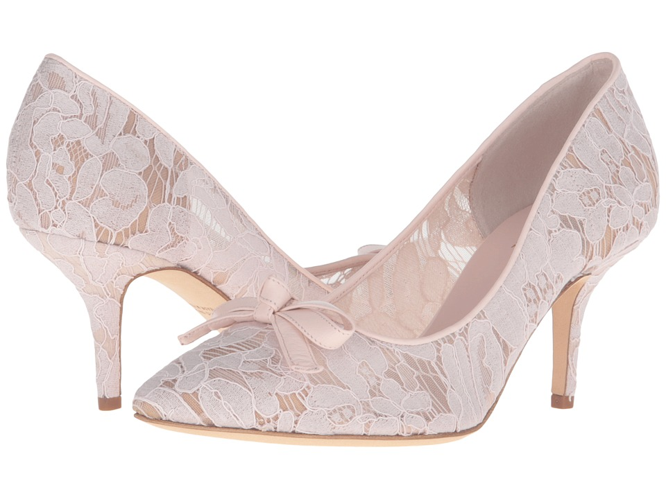 Kate Spade New York - Jace (Blush Lace/Nappa) Women's Shoes