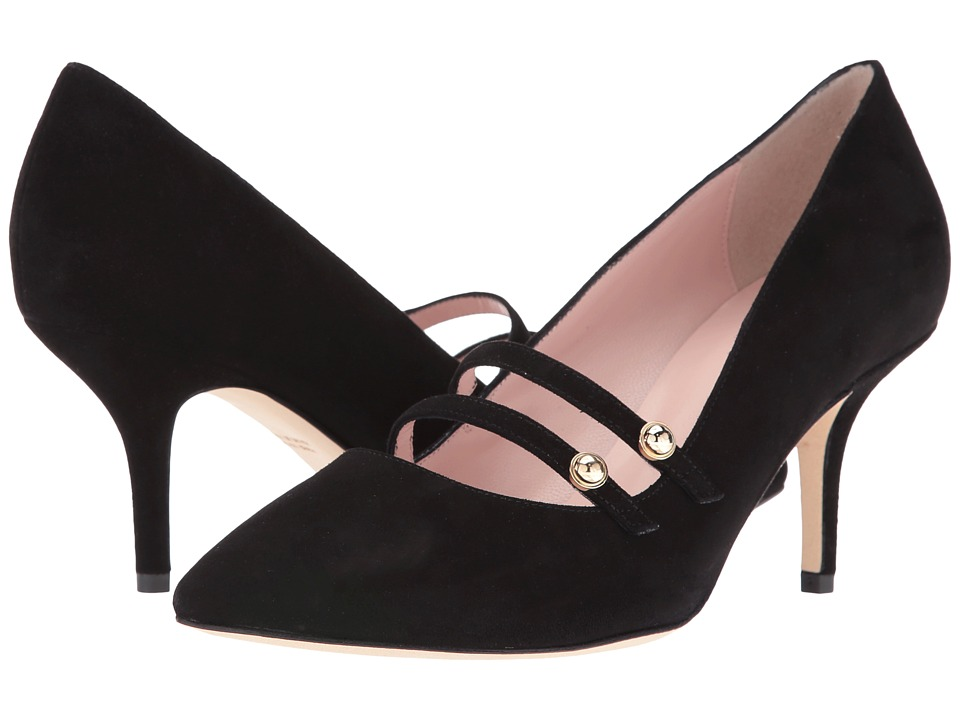 Kate Spade New York - Jessica (Black Kid Suede) Women's Shoes