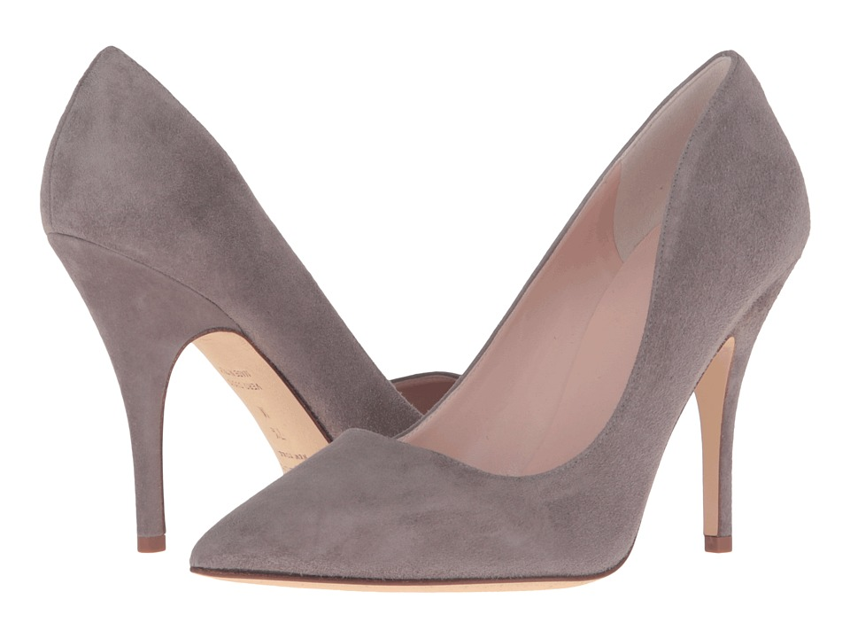Kate Spade New York - Licorice (Portabella Kid Suede) High Heels