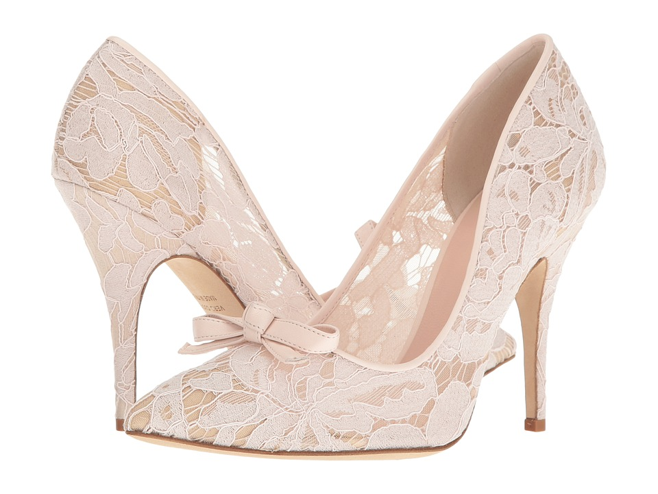 Kate Spade New York - Lisa Too (Blush Lace/Nappa) Women's Shoes