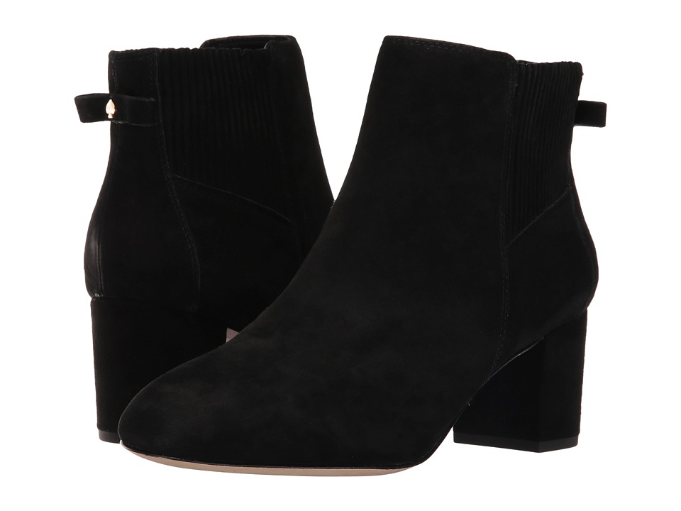 Kate Spade New York - Lorene (Black Kid Suede) Women's Shoes