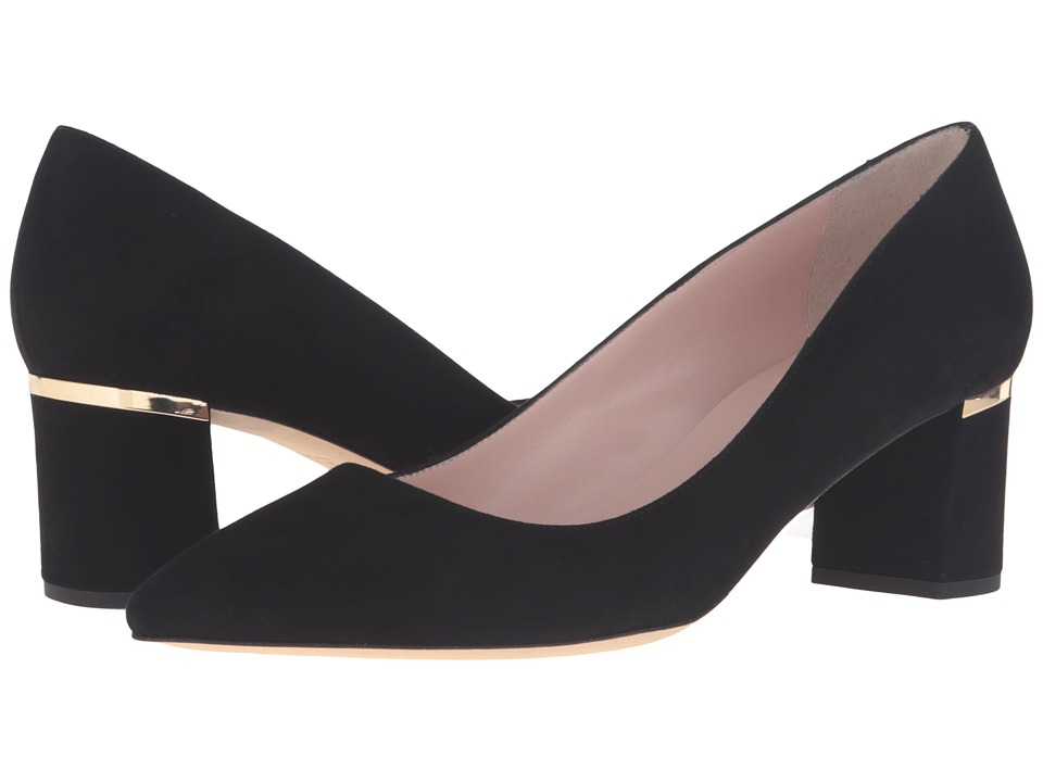 Kate Spade New York - Milan Too (Black Kid Suede) Women's Shoes