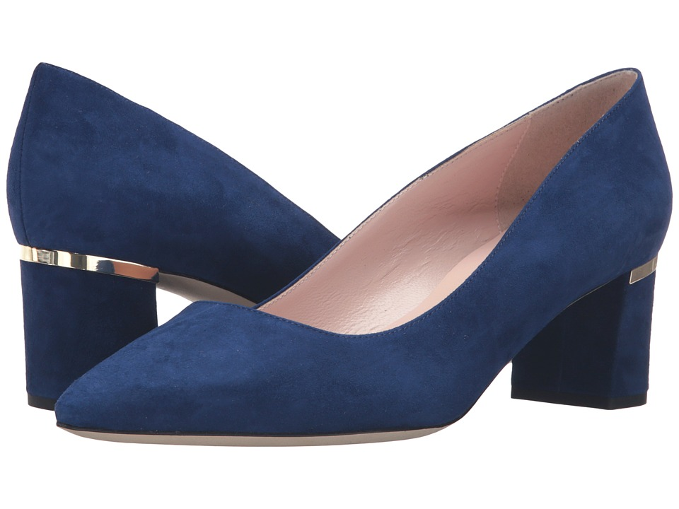 Kate Spade New York - Milan Too (Lapis Blue Kid Suede) Women's Shoes