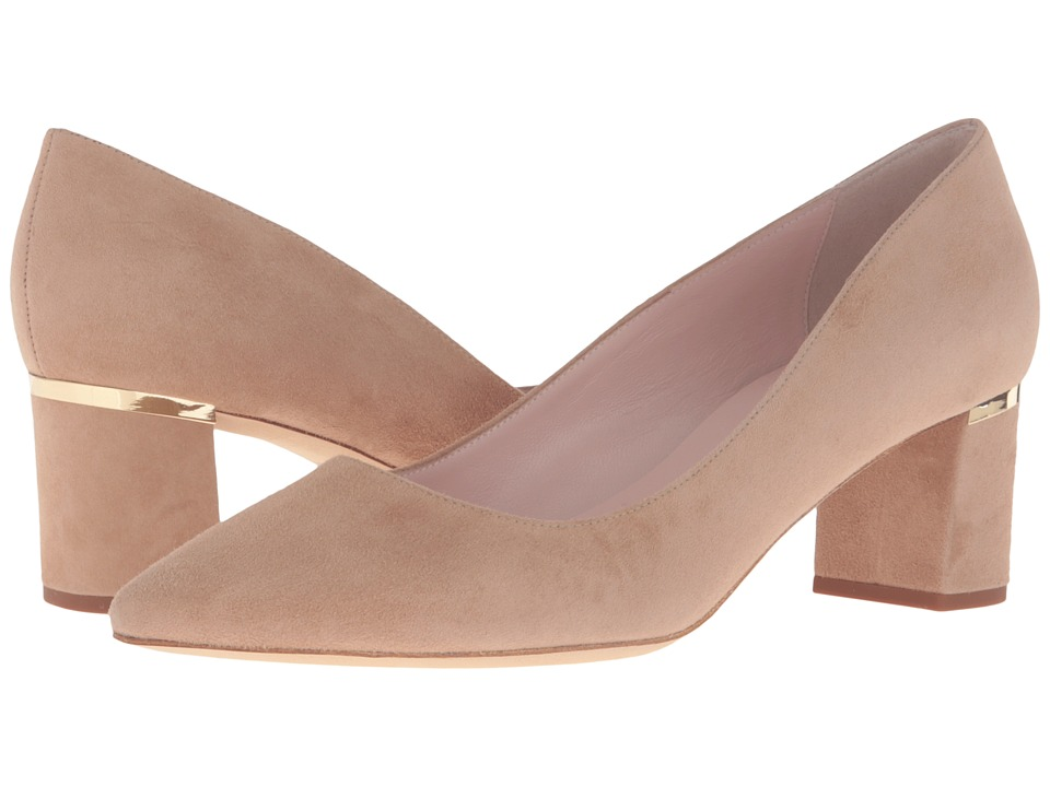 Kate Spade New York - Milan Too (Sand Kid Suede) Women's Shoes