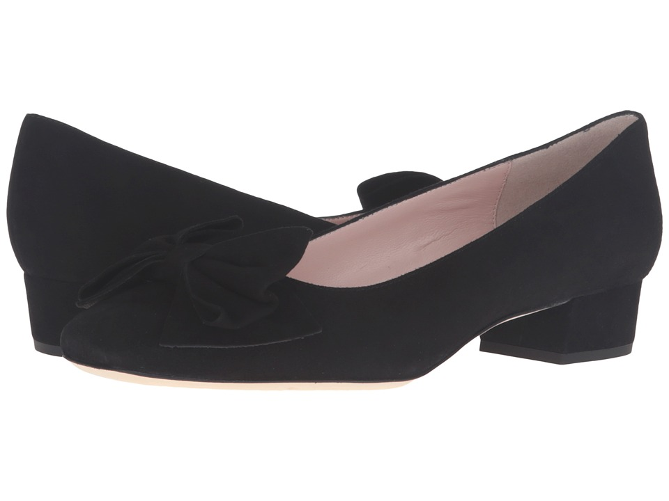 Kate Spade New York - Molly (Black Kid Suede) Women's Slip-on Dress Shoes