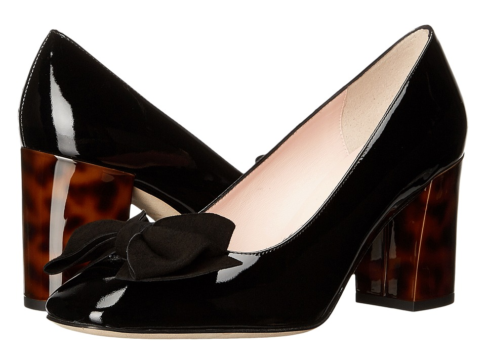 Kate Spade New York - Orion (Black Patent/Kid Suede) Women's Shoes