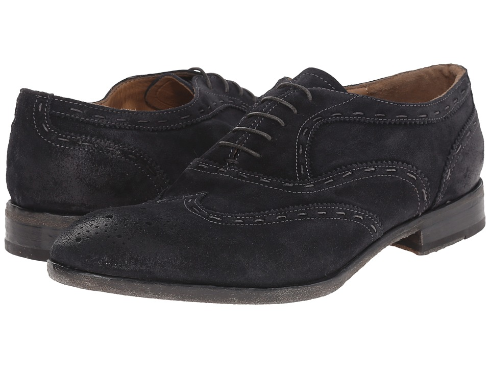 Kenneth Cole New York - High Society (Navy Suede) Men's Shoes