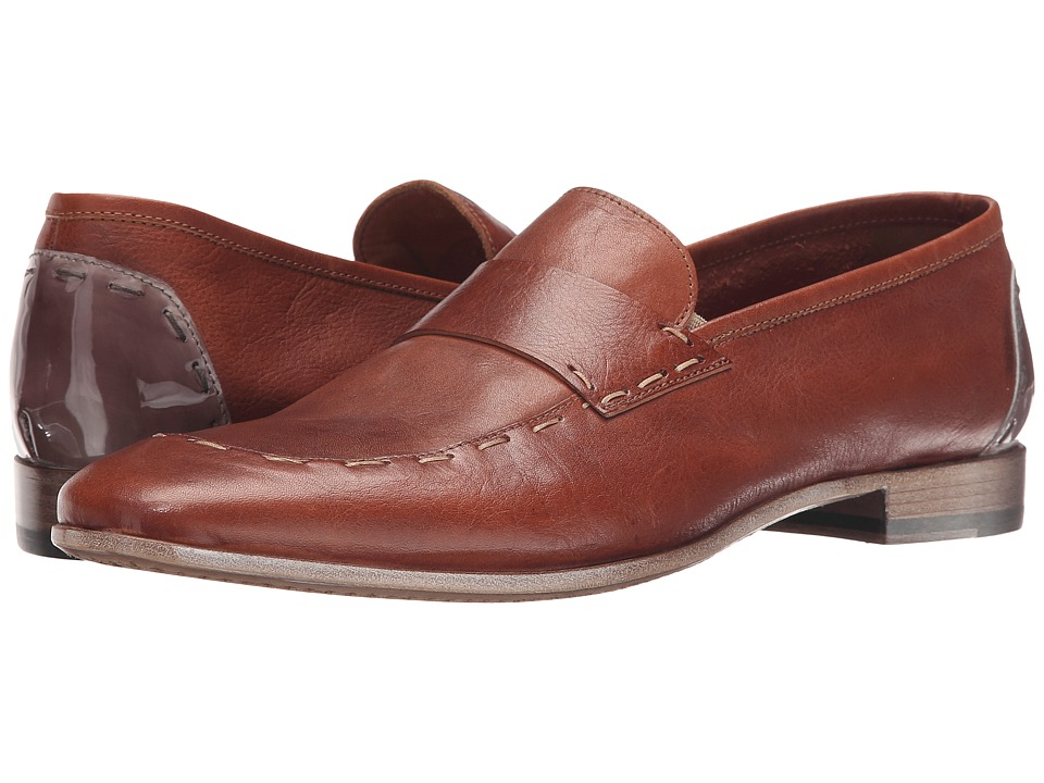 Kenneth Cole New York - Tech Savvy (Cognac Leather) Men's Shoes