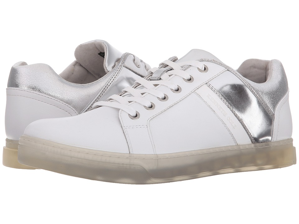 Kenneth Cole New York - Swag City (White/Silver) Men's Shoes