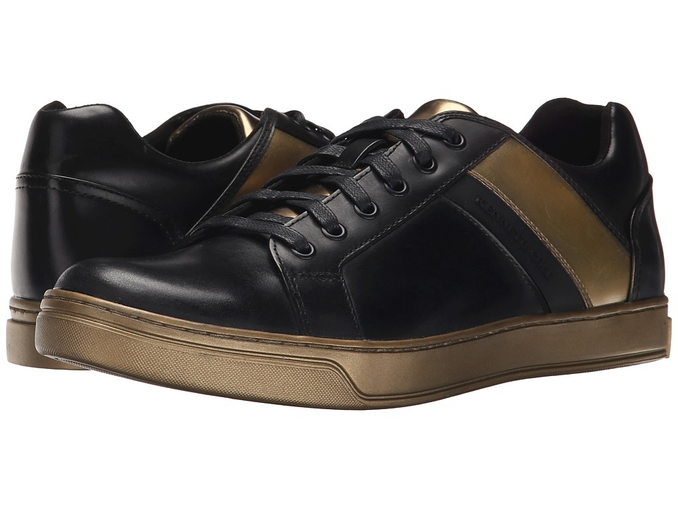 Kenneth Cole New York - Swag City (Black/Gold) Men's Shoes