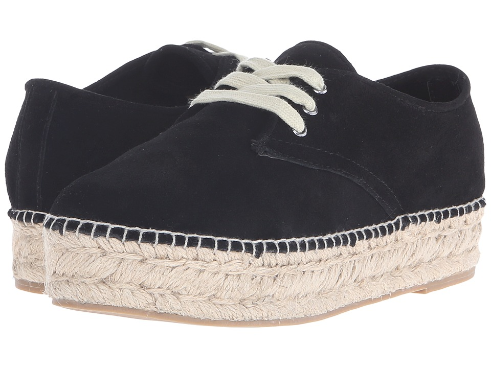 Steven - Phylicia (Black Suede) Women