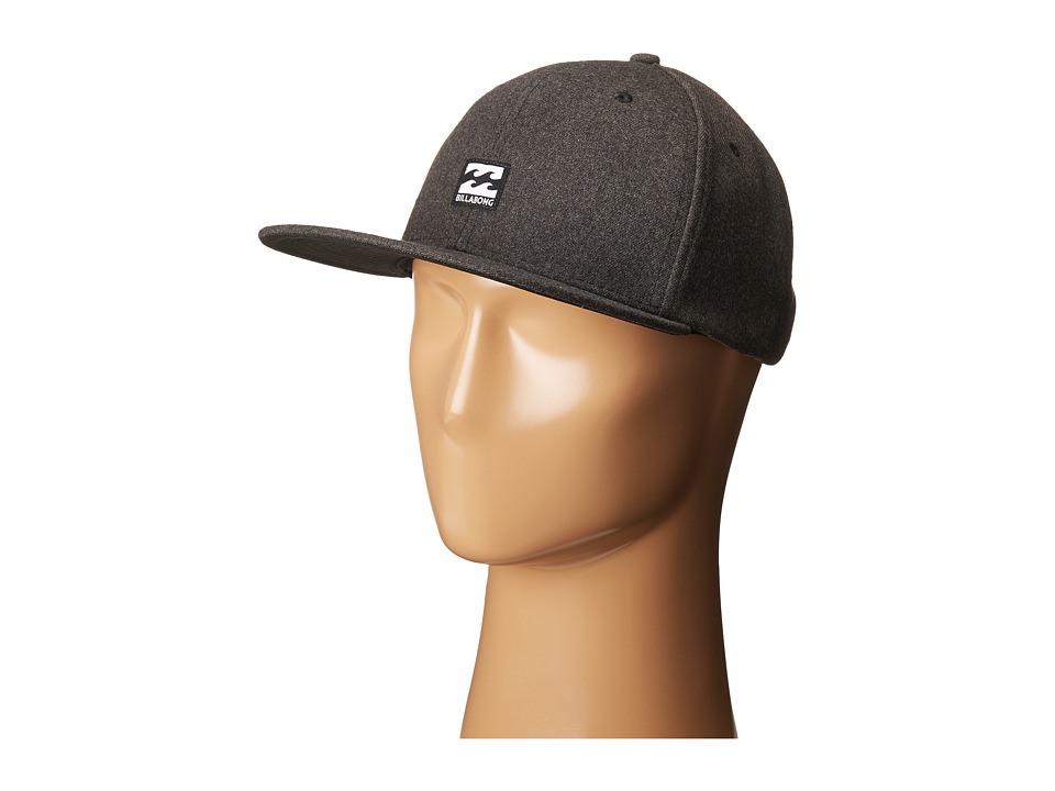 Billabong - Primary Snapback Hat (Black Heather 1) Caps