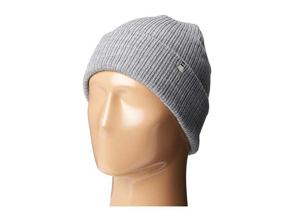 Billabong - Arcade Beanie (Grey Heather) Beanies