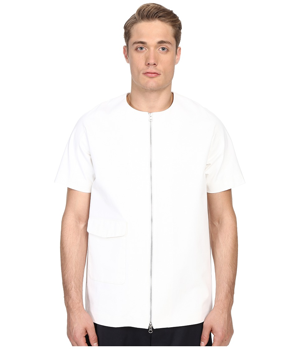 Mohsin - Russell Zip Top (White) Men's T Shirt