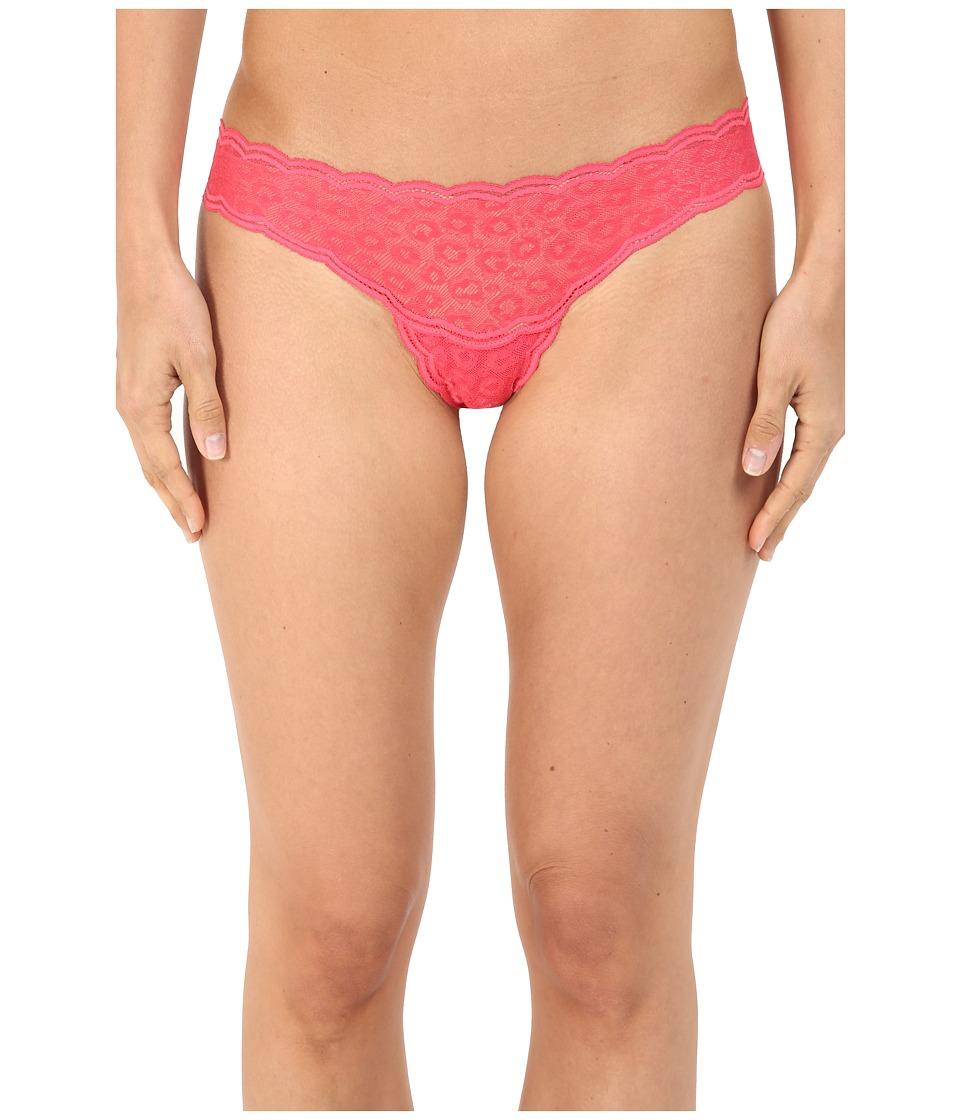 Cosabella - Sweet Treat Cheetah Thong TREAT0323 (Paradise Pink) Women's Underwear