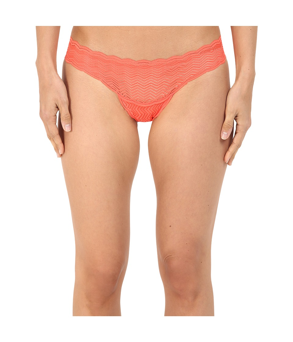 Cosabella - Sweet Treat Geo Thong TREAT0321 (Neon Orange) Women's Underwear