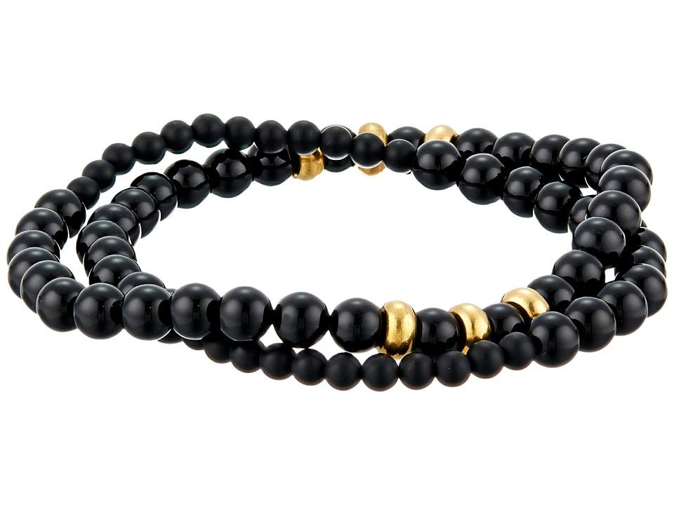 Dee Berkley - Infinity Bracelet (Black) Bracelet
