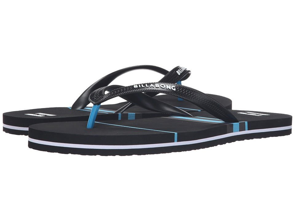 Billabong - Spin Thong Sandal (Black 1) Men's Sandals
