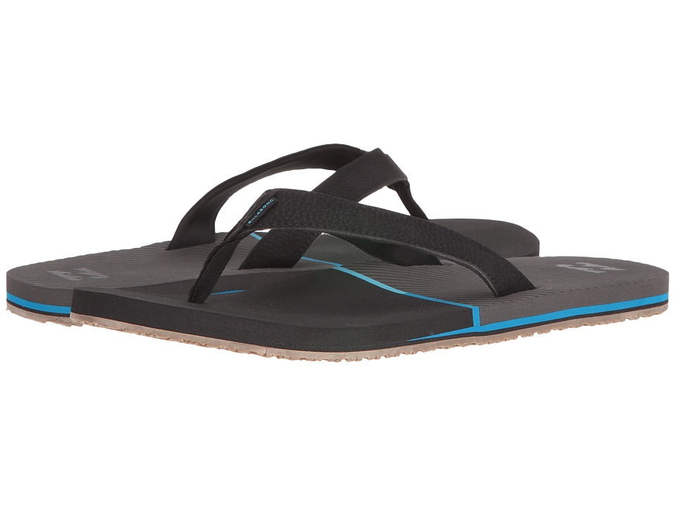 Billabong - Pivot Sandal (Black 1) Men's Sandals