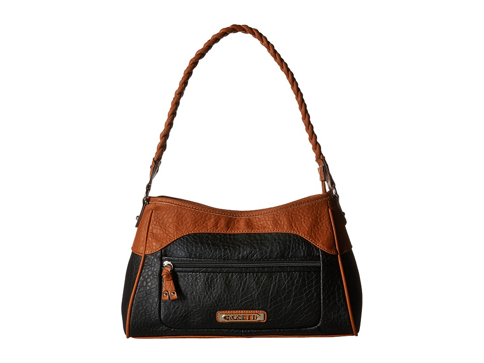 Rosetti - Half Item Small Hobo (Black) Hobo Handbags