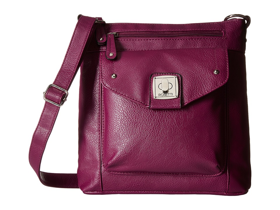 Rosetti - Emmy Mid Crossbody (Grape Jelly) Cross Body Handbags