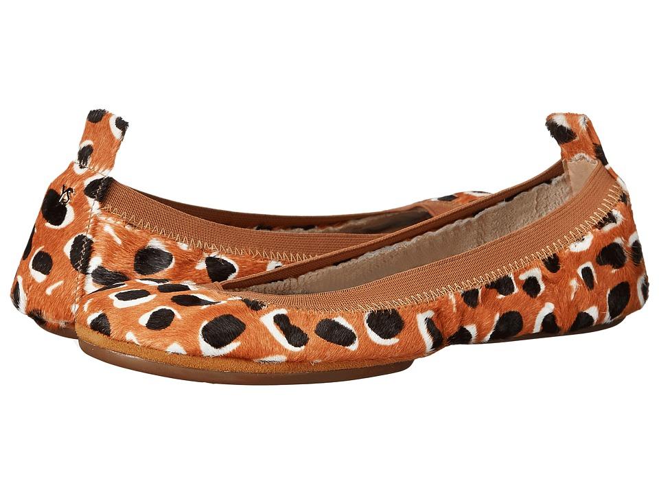Yosi Samra Samara Retro Leopard Haircalf (Sienna) Women