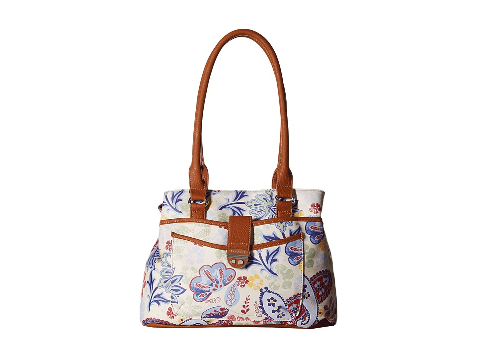 Rosetti - Park Place Shopper (My Fleur Lady Print) Tote Handbags