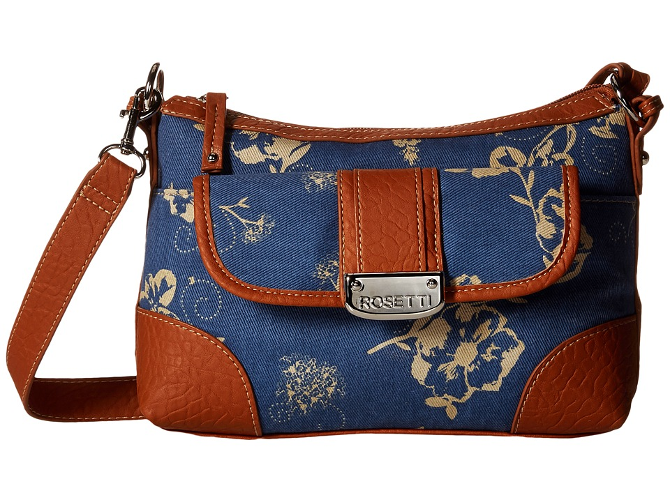 Rosetti - Park Place Convertible Hobo (Denim Dream) Cross Body Handbags
