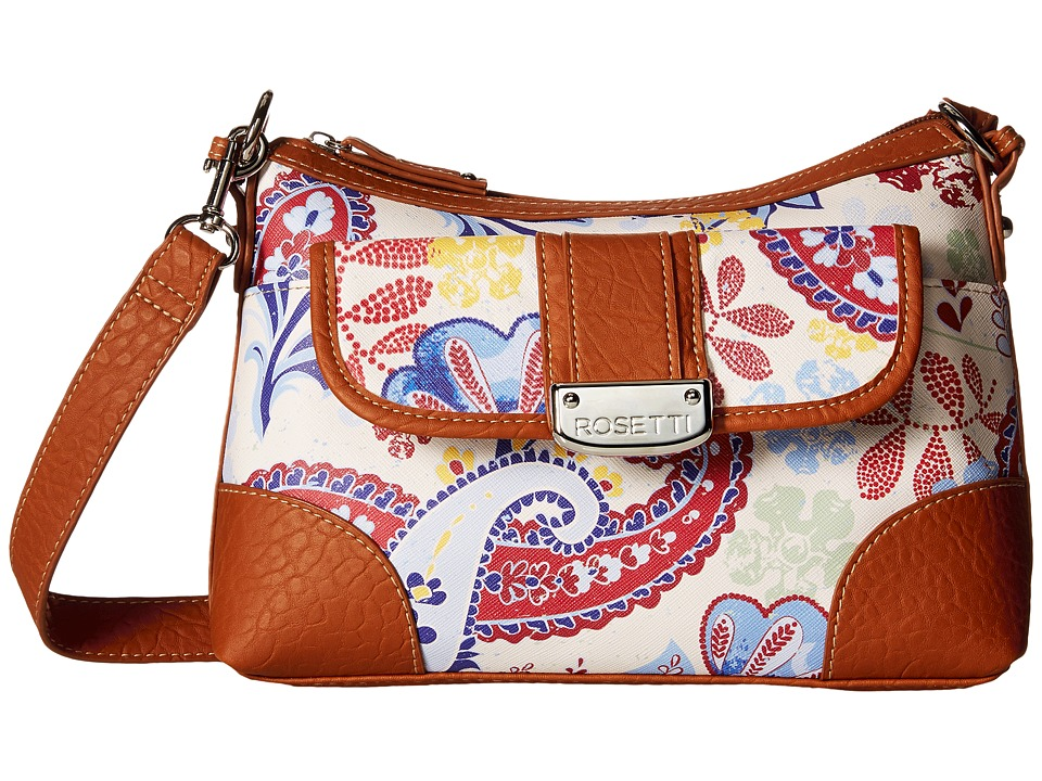 Rosetti - Park Place Convertible Hobo (My Fleur Lady Print) Cross Body Handbags